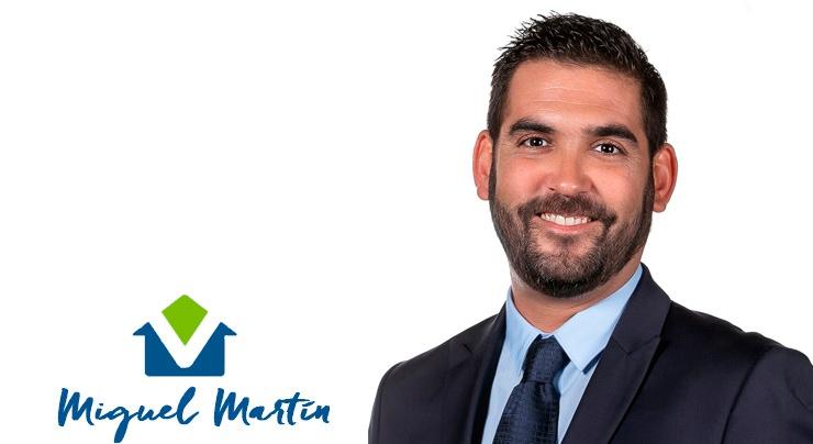 Miguel Martín, agente inmobiliario en Santa Aurelia