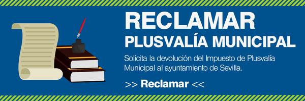 reclamar plusvalía municipal en Sevilla