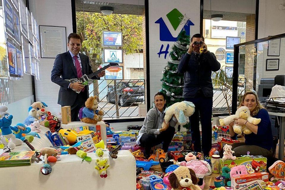 recogida de juguetes sevilla 2019