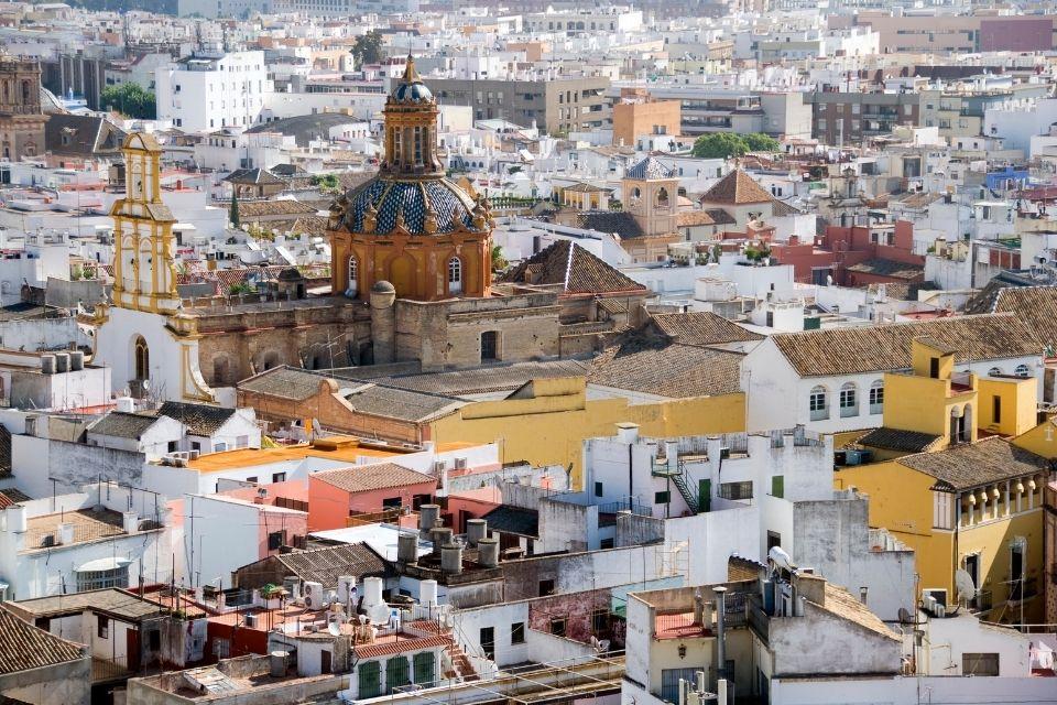 barrios más rentables en Sevilla